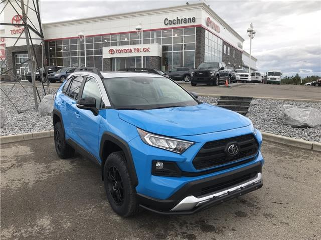 2019 Toyota RAV4 Trail (Stk: 190363) in Cochrane - Image 1 of 28