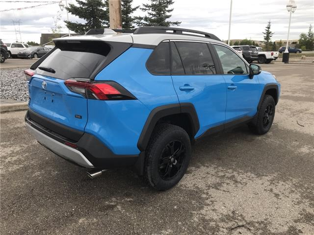 2019 Toyota RAV4 Trail (Stk: 190363) in Cochrane - Image 5 of 28