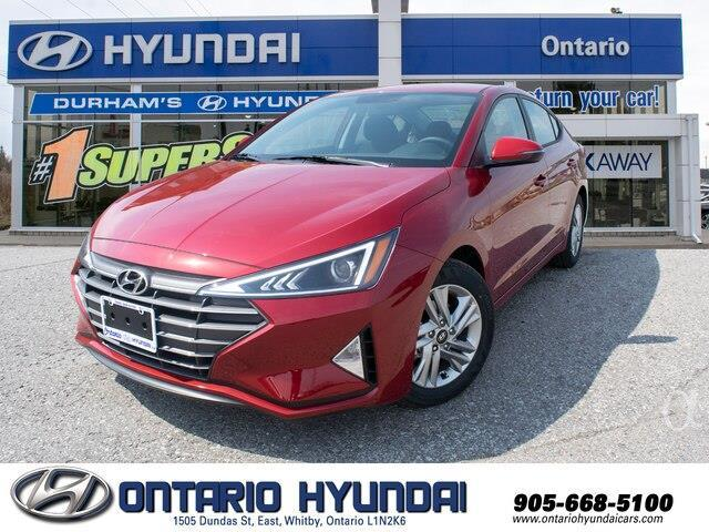 2020 Hyundai Elantra Preferred w/Sun & Safety Package (Stk: 956629) in Whitby - Image 1 of 17