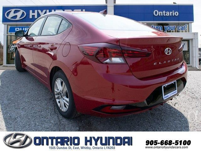 2020 Hyundai Elantra Preferred w/Sun & Safety Package (Stk: 956629) in Whitby - Image 6 of 17