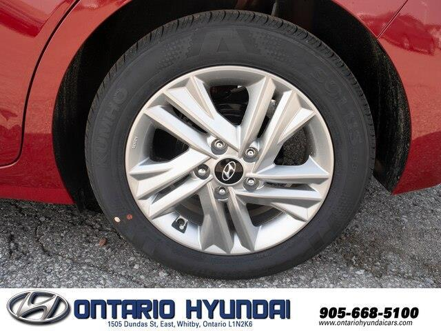 2020 Hyundai Elantra Preferred w/Sun & Safety Package (Stk: 956629) in Whitby - Image 12 of 17