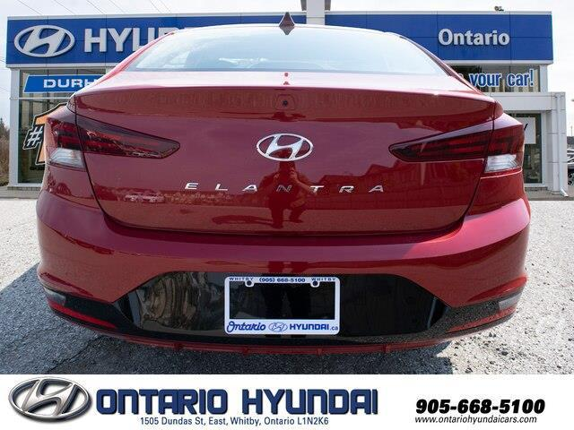 2020 Hyundai Elantra Preferred w/Sun & Safety Package (Stk: 956629) in Whitby - Image 16 of 17