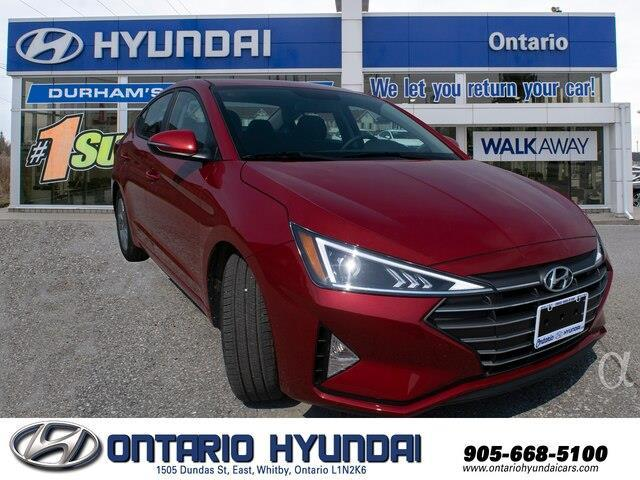 2020 Hyundai Elantra Preferred w/Sun & Safety Package (Stk: 952483) in Whitby - Image 8 of 17
