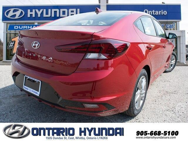 2020 Hyundai Elantra Preferred w/Sun & Safety Package (Stk: 952526) in Whitby - Image 7 of 17