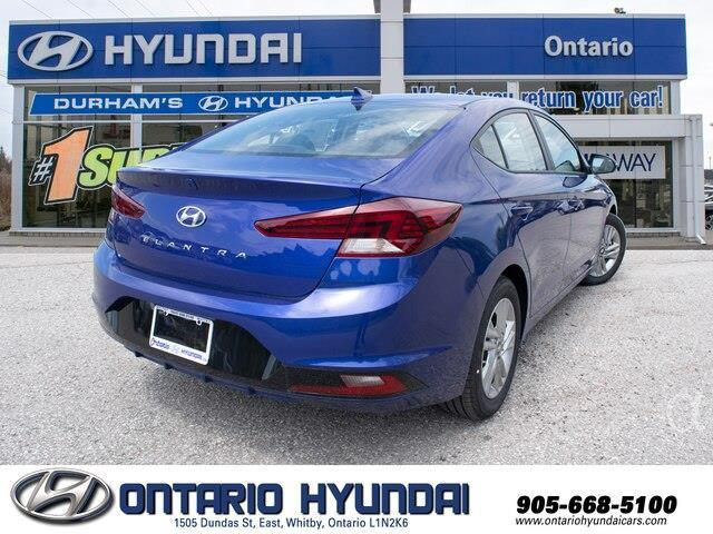 2020 Hyundai Elantra Preferred w/Sun & Safety Package (Stk: 955311) in Whitby - Image 7 of 17