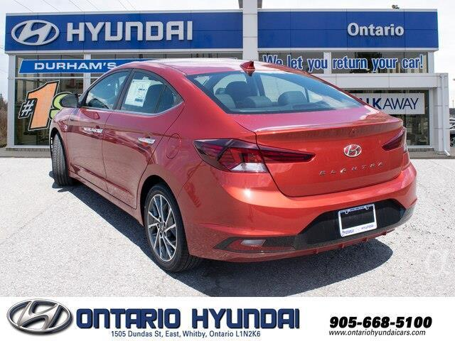 2020 Hyundai Elantra Luxury (Stk: 952501) in Whitby - Image 7 of 21