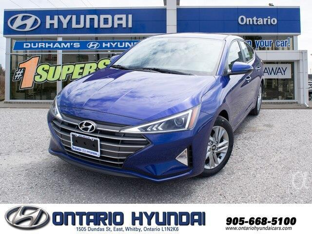 2020 Hyundai Elantra Preferred w/Sun & Safety Package (Stk: 955298) in Whitby - Image 1 of 17