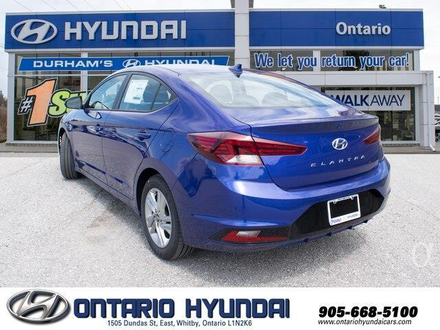 2020 Hyundai Elantra Preferred w/Sun & Safety Package (Stk: 955298) in Whitby - Image 6 of 17