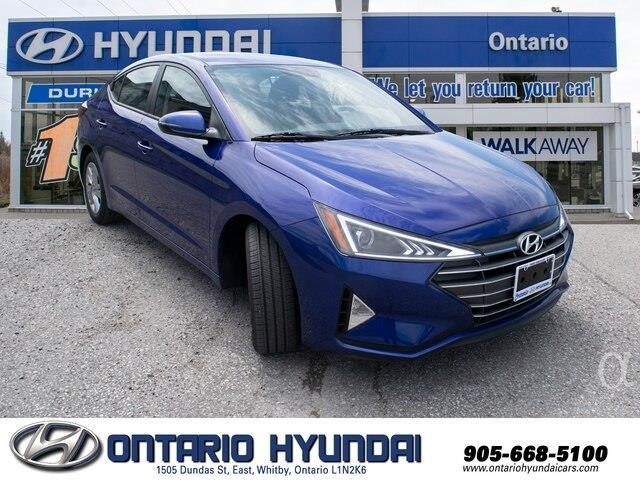 2020 Hyundai Elantra Preferred w/Sun & Safety Package (Stk: 955298) in Whitby - Image 8 of 17