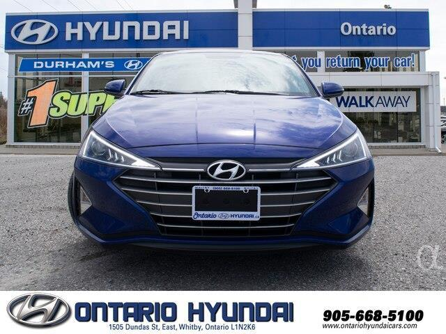 2020 Hyundai Elantra Preferred w/Sun & Safety Package (Stk: 955298) in Whitby - Image 15 of 17