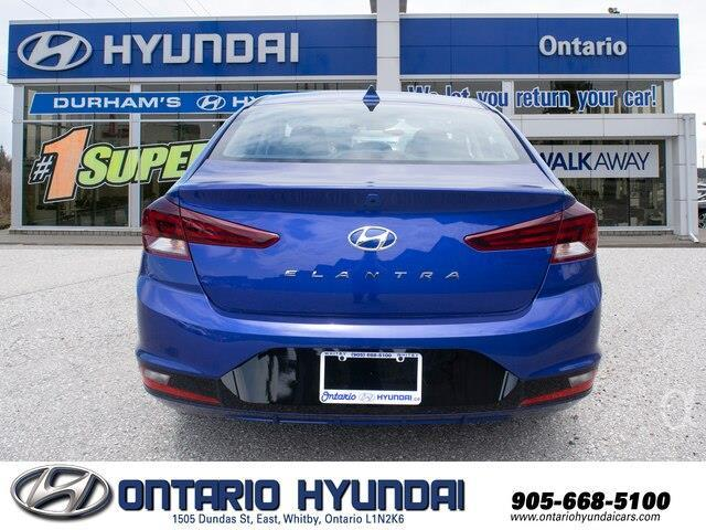 2020 Hyundai Elantra Preferred w/Sun & Safety Package (Stk: 955298) in Whitby - Image 16 of 17