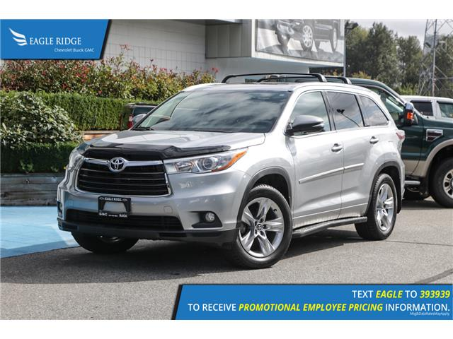 2016 Toyota Highlander Limited (Stk: 169505) in Coquitlam - Image 1 of 21