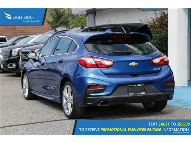 2018 Chevrolet Cruze Premier Auto (Stk: 189608) in Coquitlam - Image 4 of 16
