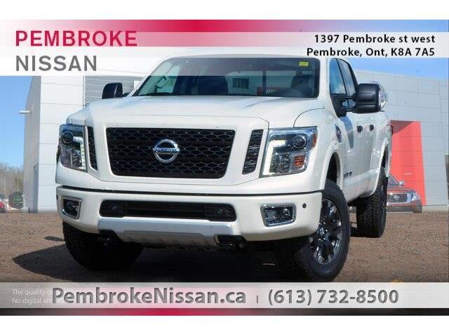 2019 Nissan Titan XD PRO-4X Gas (Stk: 19305) in Pembroke - Image 1 of 20