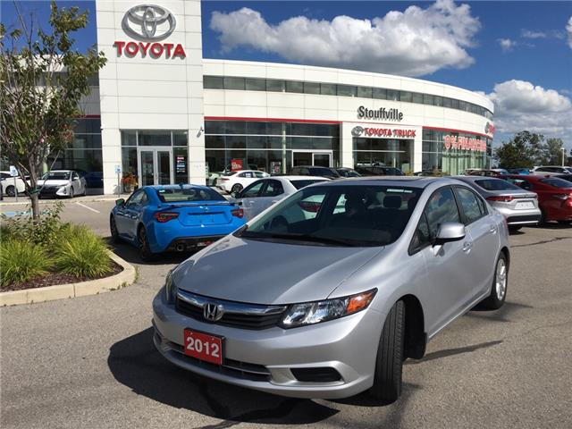 2012 Honda Civic EX-L 2HGFB2F97CH017210 190647A in Whitchurch-Stouffville