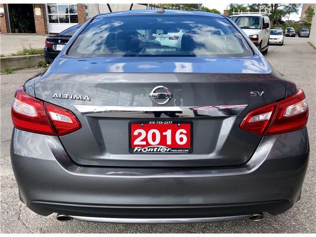 2016 Nissan Altima 2.5 SV (Stk: 315149) in Toronto - Image 6 of 11