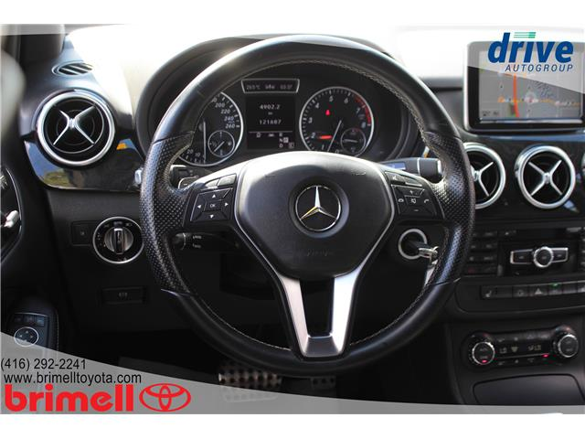 2013 Mercedes-Benz B-Class Sports Tourer (Stk: 196404A) in Scarborough - Image 13 of 27
