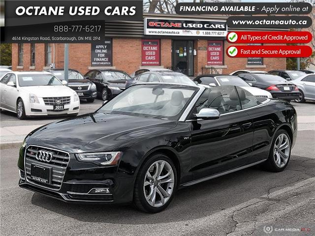 2013 Audi S5 3.0T (Stk: ) in Scarborough - Image 1 of 23