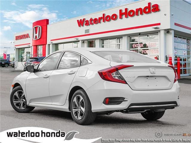 2019 Honda Civic LX (Stk: H6000) in Waterloo - Image 4 of 23
