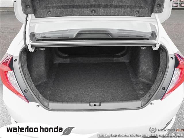 2019 Honda Civic LX (Stk: H6000) in Waterloo - Image 7 of 23