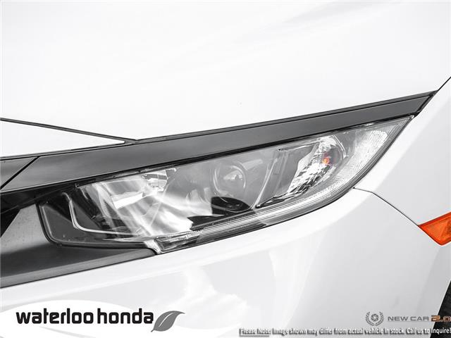2019 Honda Civic LX (Stk: H6000) in Waterloo - Image 10 of 23