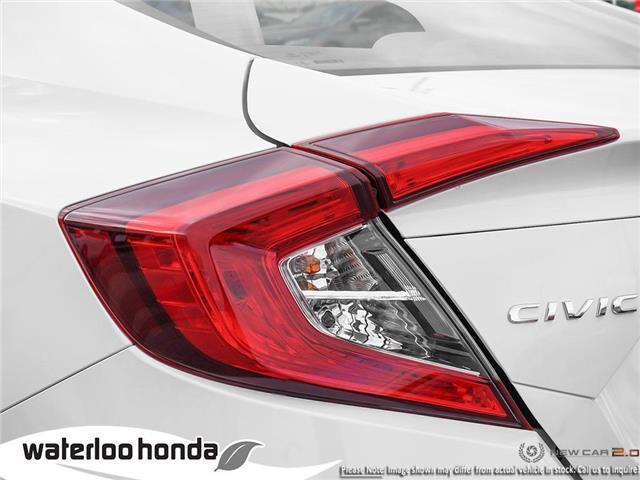 2019 Honda Civic EX (Stk: H6026) in Waterloo - Image 11 of 23