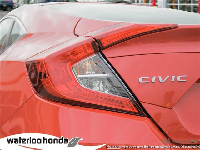 2019 Honda Civic LX (Stk: H6027) in Waterloo - Image 11 of 23