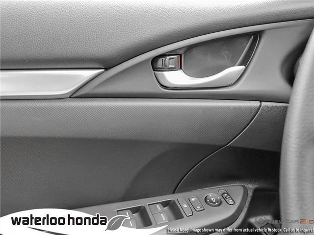 2019 Honda Civic LX (Stk: H5998) in Waterloo - Image 16 of 23