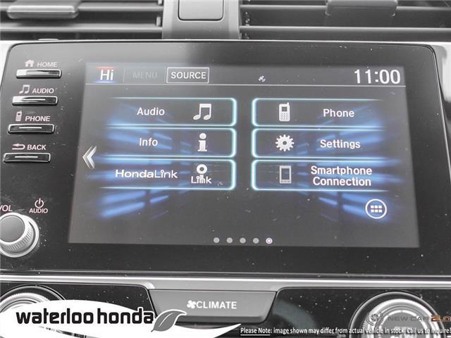 2019 Honda Civic LX (Stk: H5998) in Waterloo - Image 18 of 23