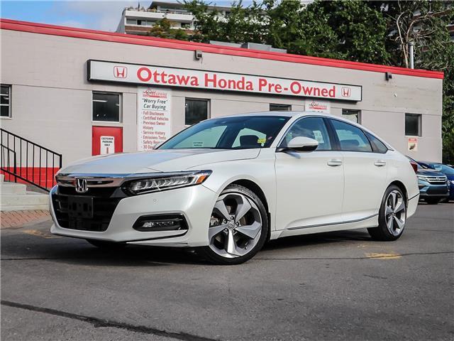 2018 Honda Accord Touring (Stk: H7846-0) in Ottawa - Image 1 of 27