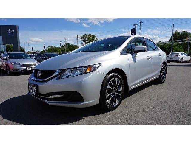 2015 Honda Civic EX (Stk: HU868) in Hamilton - Image 10 of 36