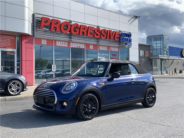 2017 MINI Convertible Cooper (Stk: H3D00175) in Sarnia - Image 1 of 16