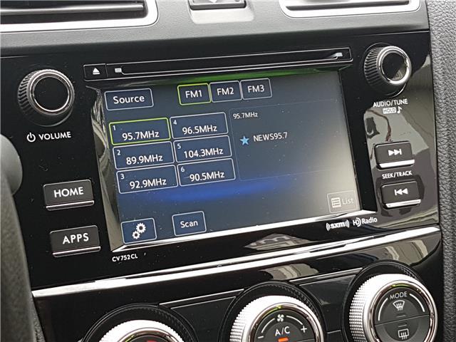 2017 Subaru WRX Sport (Stk: 00162) in Middle Sackville - Image 23 of 27