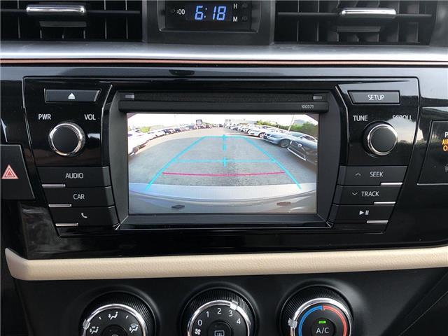 2016 Toyota Corolla LE (Stk: 576110) in Ottawa - Image 17 of 25