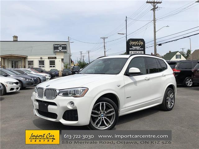 2016 BMW X3 xDrive35i (Stk: S17979) in Ottawa - Image 1 of 26