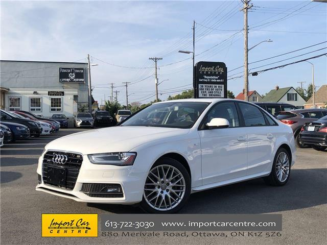 2015 Audi A4 2.0T Komfort plus (Stk: 028411) in Ottawa - Image 1 of 23
