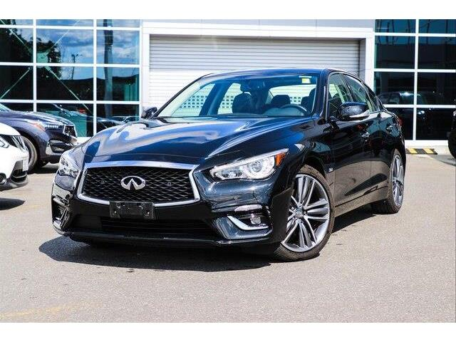 2018 Infiniti Q50 3.0t LUXE (Stk: 18804A) in Ottawa - Image 1 of 27