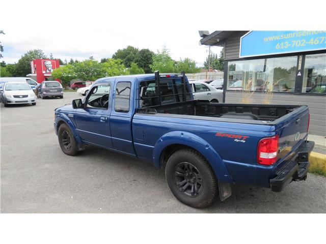 2010 Ford Ranger Sport (Stk: A134) in Ottawa - Image 7 of 23