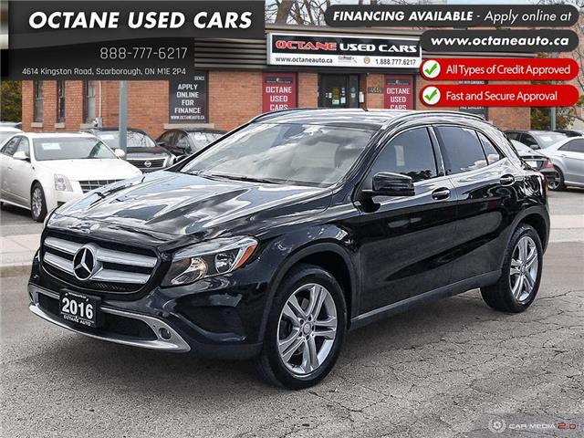 2016 Mercedes-Benz GLA-Class Base (Stk: ) in Scarborough - Image 1 of 27