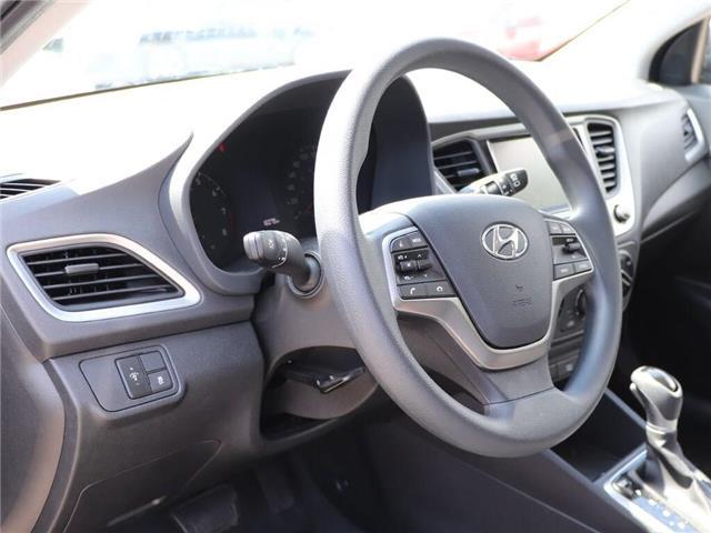 2019 Hyundai Accent Preferred  Backup Cam  Heat Seat  Gas Saver! (Stk: 5469) in Stoney Creek - Image 13 of 18
