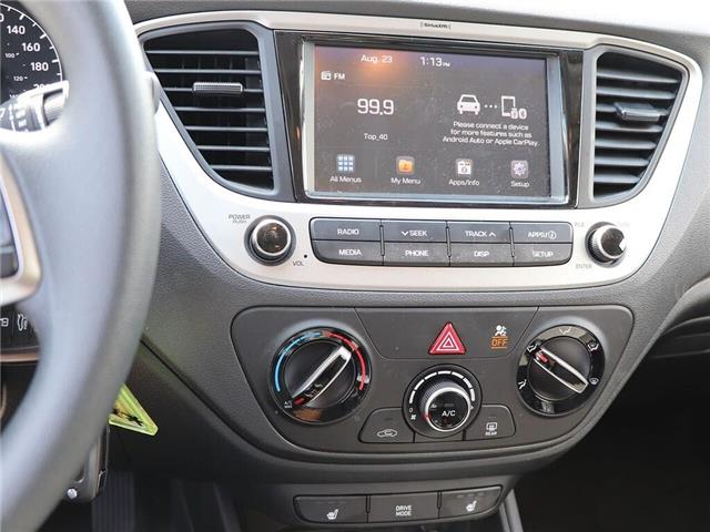 2019 Hyundai Accent Preferred  Backup Cam  Heat Seat  Gas Saver! (Stk: 5469) in Stoney Creek - Image 16 of 18