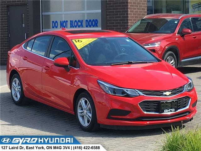 2016 Chevrolet Cruze LT Auto (Stk: H5042A) in Toronto - Image 1 of 29