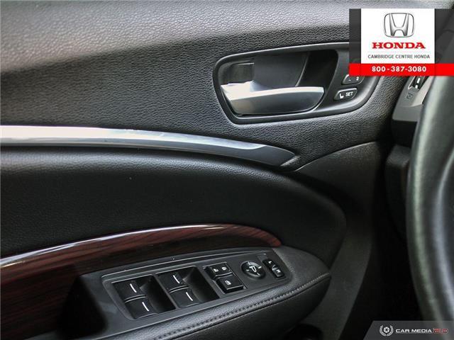 2015 Acura MDX Navigation Package (Stk: U4969) in Cambridge - Image 17 of 27