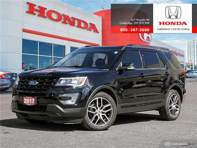 2017 Ford Explorer Sport (Stk: 20160A) in Cambridge - Image 1 of 27