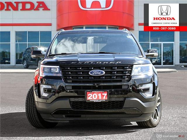 2017 Ford Explorer Sport (Stk: 20160A) in Cambridge - Image 2 of 27