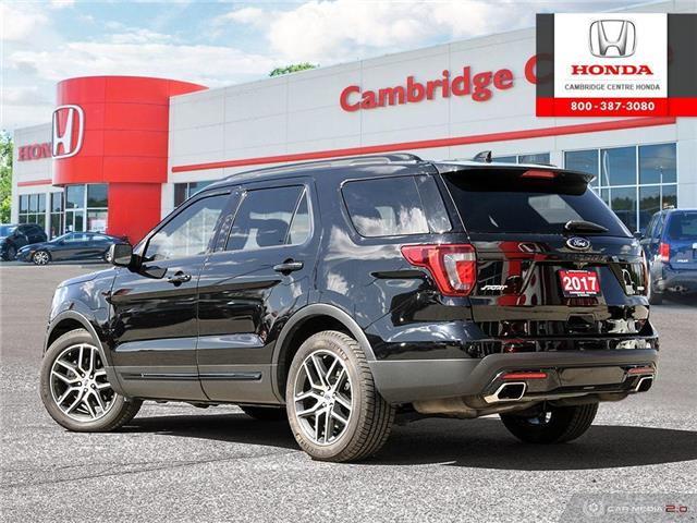2017 Ford Explorer Sport (Stk: 20160A) in Cambridge - Image 4 of 27