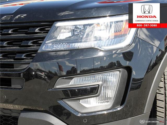 2017 Ford Explorer Sport (Stk: 20160A) in Cambridge - Image 10 of 27