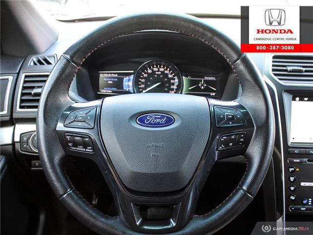 2017 Ford Explorer Sport (Stk: 20160A) in Cambridge - Image 14 of 27