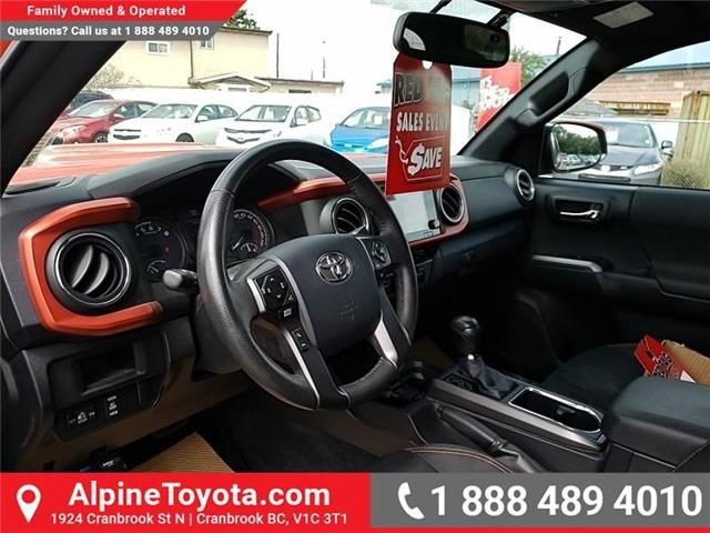 2016 Toyota Tacoma  (Stk: X010292) in Cranbrook - Image 9 of 26