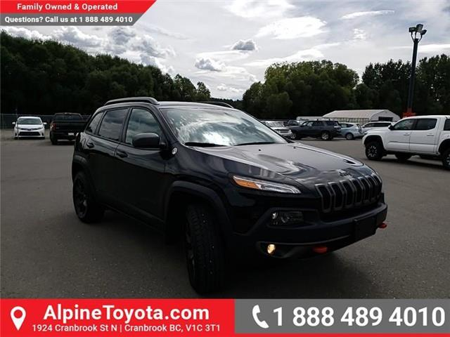 2018 Jeep Cherokee Trailhawk (Stk: 5300056N) in Cranbrook - Image 7 of 27